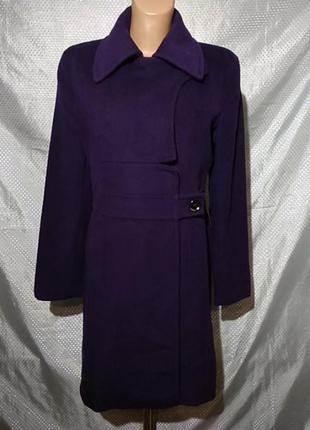 Пальто демисезонное женское,шерсть и кашемир, бренд saints
