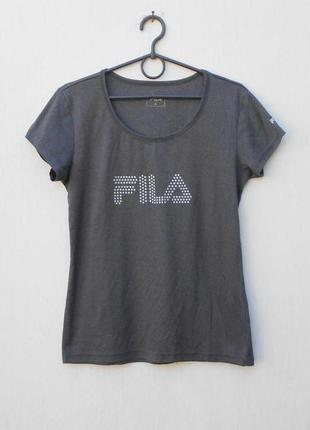 Спортивная футболка женская спортивная одежда fila