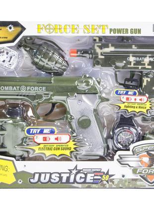 Детский набор военного 34180