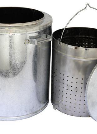 Воскотопка паровая 17 л (нержавеющая сталь)