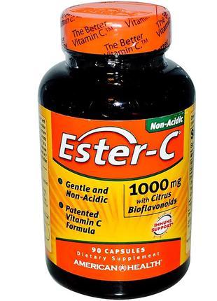 Эстер-С с Бифлавоноидами, Ester-C, American Health, 1000 мг, 9...