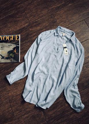 Очень стильная натуральная блуза большого размера