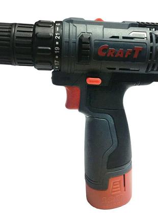 Шуруповерт аккумуляторный СRAFT CAS-12SLN