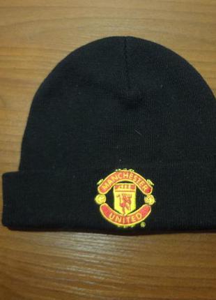 Клубная шапка manchester united на мальчика 12-14лет