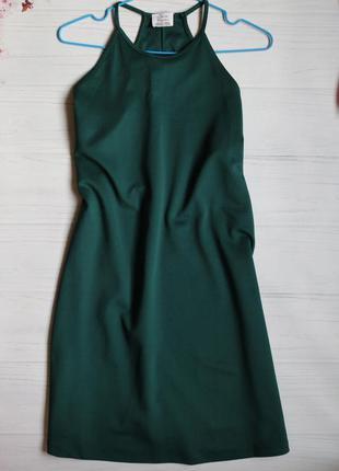 Зелена сукня від zara.