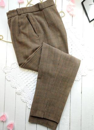 Полушерстяные брюки