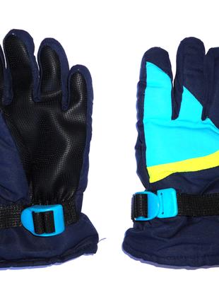 Краги перчатки непромокаемые варежки на флисе 8-10 лет