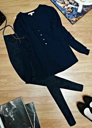 Женская идеальная актуальная брендовая рубашка - блуза оверсай...