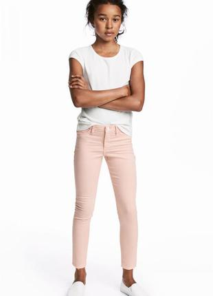 Джинсы superstretch skinny fit jeans  h&m