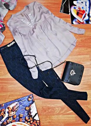 Женская нежная комфортная блуза - италия - размер 44