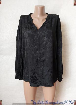 Фимренная marks & spenser блуза со 100 % вискозы ткань с перел...