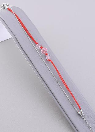 Браслет 'xuping' сrystal 17 см. (родий) 0755940