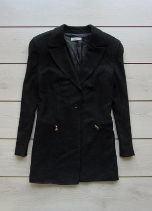 Удлиненный пиджак под пальто от clasen