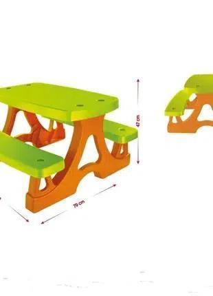 Стол детский для пикника Mochtoys. Пикниковый столик. Польша. Ka