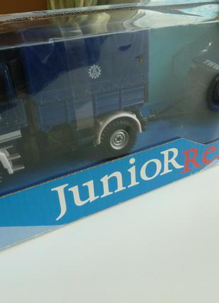 Mersedes-Benz Unimog+прицеп и Range RoVER Rescue Cararama Масштаб