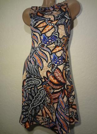 Красивое платье миди h&m размер s