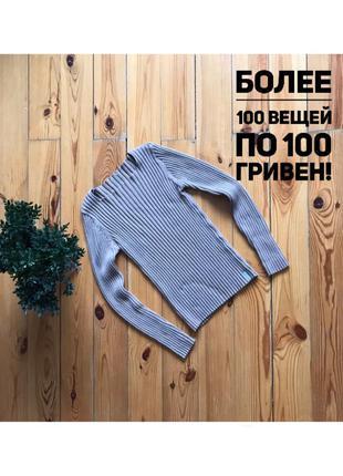 Классный джемпер свитер с вырезом-лодочкой. s-m