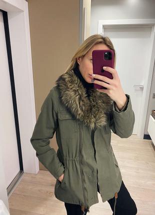 Парка куртка h&m