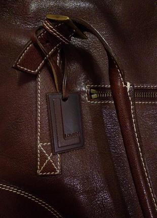 Деловая брендовая кожаная сумка laurel