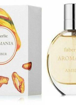 Туалетная вода для женщин aromania amber
