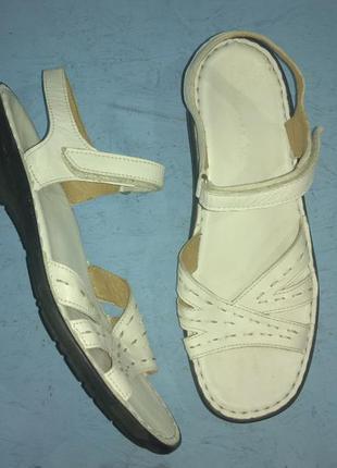 Кожаные босоножки сандалии mobease германия р 40