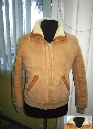 Мужская натуральная кожаная куртка на меху. германия. лот 767 ...