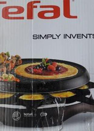Раклетница Tefal Raclette - Grill - Crepe + Набор аксессуаров