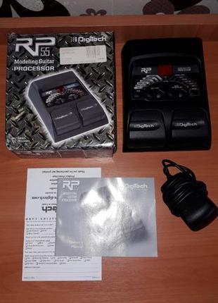 Гитарный процессор Digitech RP55 + подарок