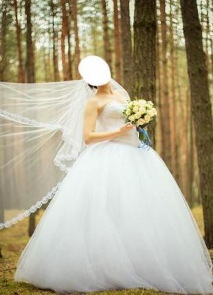 Весільне плаття 42-46 розмір