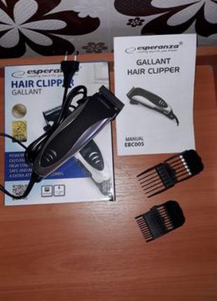 Машинка для стрижки волос Esperanza EBC005 Gallant