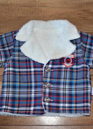 Куртка мальчику демисезон 62-68-74 см, 3-6-9 мес