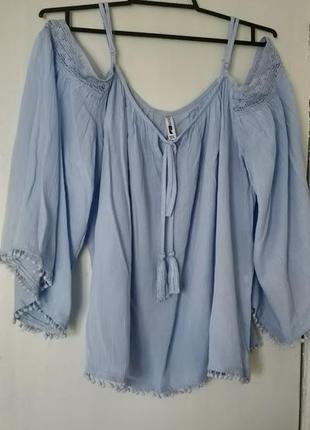 !продам новую женскую летнюю блузку, блуза на бретелях