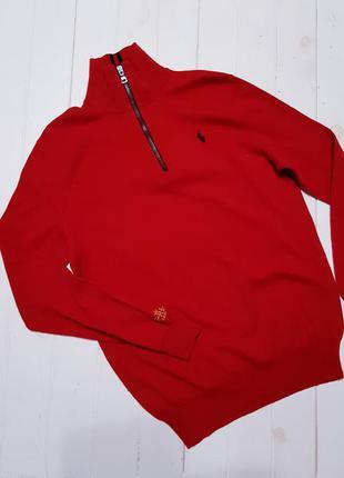 Шерстяной мужской свитер ralph lauren