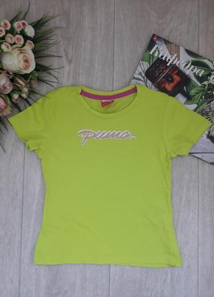 Яркая футболка 6 лет puma оригинал