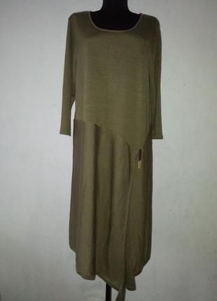 Платье теплое туника