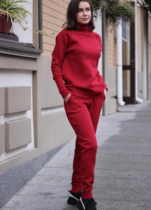 Дизайнерские теплые спортивные штаны casual