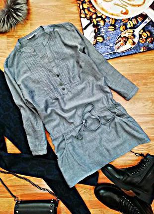 Женская мягкая легкая натуральная сорочка - рубашка - блуза ge...
