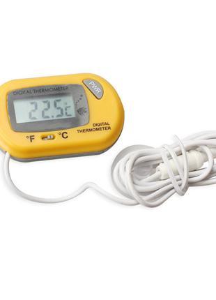 Цифровой термометр на присоске градусник на присоске для аквар...