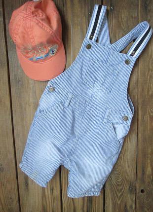 Стильный джинсовый комбинезон tu комбинезон с шортами на 1-1,5...