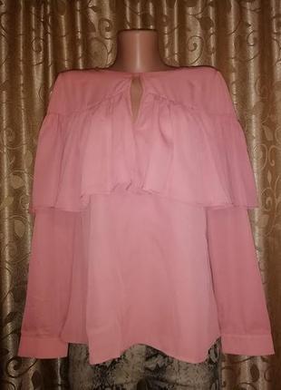 🎀🎀🎀красивая легкая женская кофта, блузка, джемпер с воланами 1...
