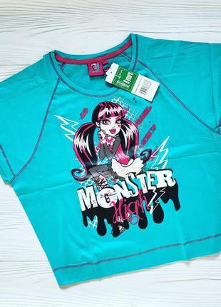 Классная футболка на девочку monster high
