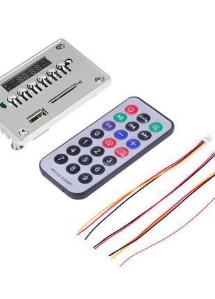 Встраиваемый MP3 плеер с Bluetooth, FM модуль, усилитель, USB,...