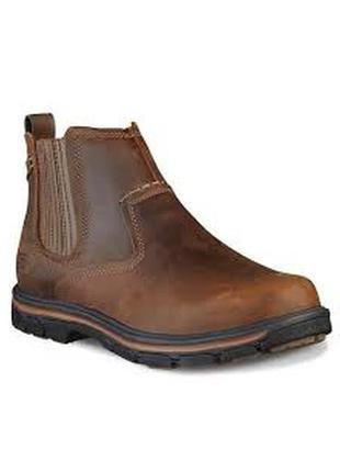 Skechers ●25,5см● Кожаные демисезонные ботинки, челси. Оригинал