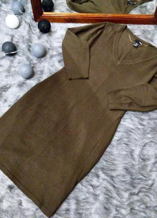 Базовое платье h&m