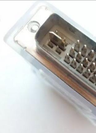Переходник DVI to VGA 24+5 дви на вга