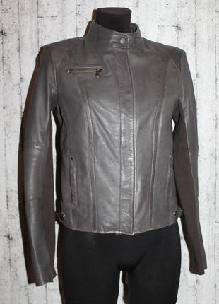 Кожаная куртка/косуха/байкерская американского бренда marc new...