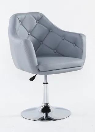 Кресло парикмахерское НС 831 серый